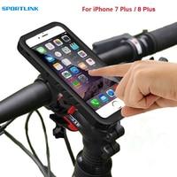 Bicycle Mount For IPhone 7 Plus 8 Plus Waterproof Case Bike Motorcycle Rack Handlebar Motorcycle Holder