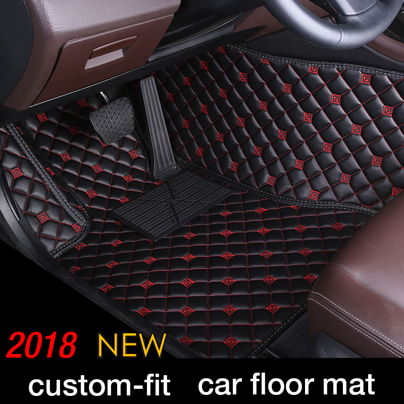 Personnalisé Tapis De Sol Voiture Pour Escalade Cadillac Seville SLS ATS ATSL CT6 CTS SLS SRX XT5 berline Voiture Style Étage tapis tapis