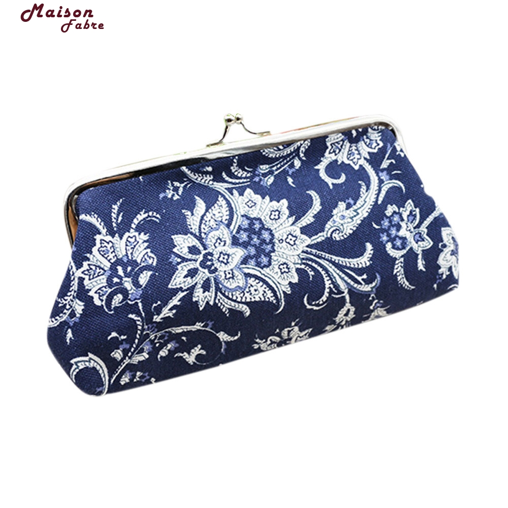 New Fashion Ladies Wallets Purses Anime Wallets FowerPattern Purse For Coin Purse Female Money Tray Case For Cards Maison Fabre sosw fashion anime theme death note cosplay notebook new school large writing journal 20 5cm 14 5cm