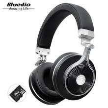 Bluedio T3 +/T3 Plus Bluetooth auriculares graves profundos auricular inalámbrico con ranura para tarjetas sd y el micrófono de la música y el teléfono