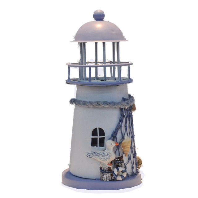 4 Differents Style Retro Small Model Lighthouse Ornaments Home and ...