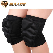 SULAITE Motorcycle Knee Black Sports Knee Bicycle Pads Racing ATV Knee Pads Motocross Racing Guard Knee Pads Protective Gear