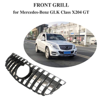 For Mercedes Benz GLK Class X204 GTR GT R GLK250 GLK300 GLK350 grille Without central logo 2013 15 front bumper racing grill