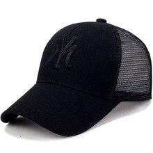 Spring Summer Unisex Baseball Caps Letter Mesh Cap Fashion S