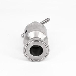 """Image 4 - 1.5 """"Tri Clamp 0.5 5 Bar Verstelbare Overdrukventiel Veiligheidsventiel Sanitair SUS 304 Roestvrij Staal Bier Brouwen vergister Vaatje"""