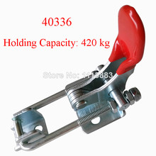 5PCS Quick Holding Latch Type Toggle Clamp 40336 Holding Capacity 420KG 926LBS destaco 1 pk hold down clamp 680kg holding capacity 60mm 305 hm stainless steel