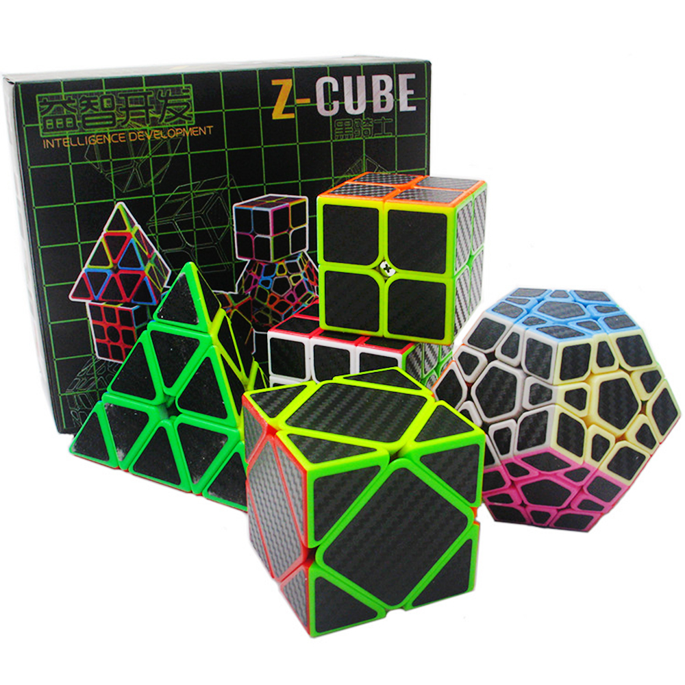 5 PCS/set ZCUBE 2*2 3*3 Skewb 3 Layers Pyraminx Megaminx 2x2 3x3 Puzzle Rubix Magic Rubic Cubes
