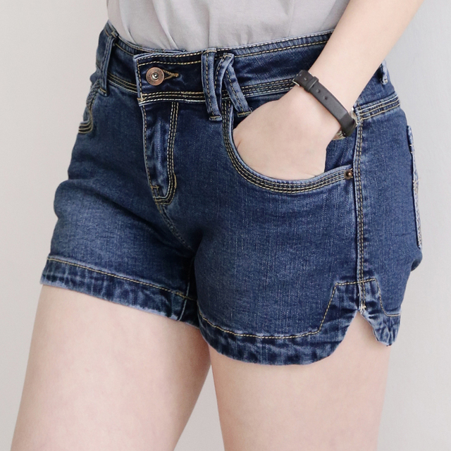 New Women Summer Skinny Denim Female Shorts Female