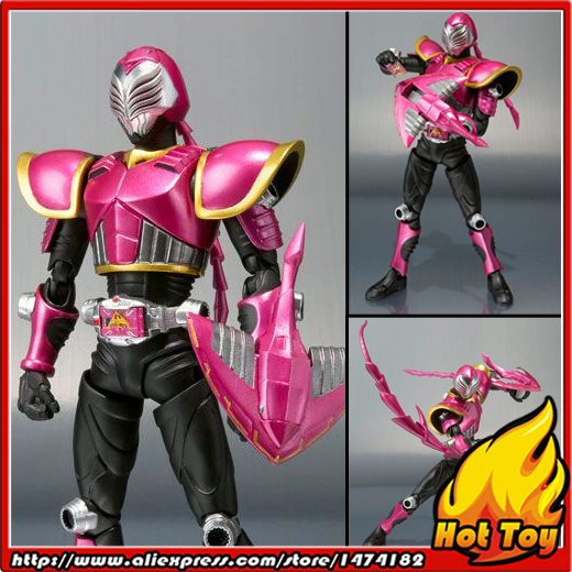 100% Original BANDAI Tamashii Nations S.H.Figuarts (SHF) Action Figure - Raia from Masked Rider Ryuki