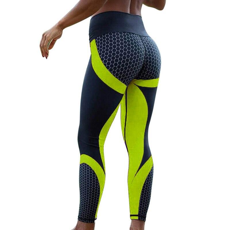 New Fitness leggings Women Mesh Breathable High Waist  Femme Workout Leggings Push Up Sport Legins Elastic Slim Pants Plus Size