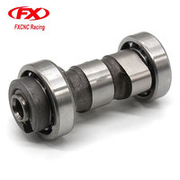 FX Aluminum Motorcycle Engine Parts Motorcycle Shaft Camshaft Cam For Honda YBR125 XTZ 125