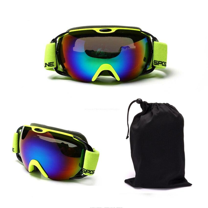 Professional upmarket ski glasses ski goggles double layers UV400 anti-fog big ski mask glasses skiing snowboard goggles box-01