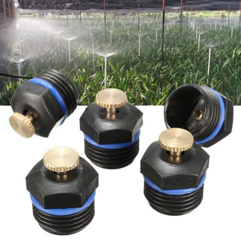 5pcs Grass Yard Watering Sprinkler Head Garden Lawn Irrigation System Spray Nozzle Plants Irrigation Kits Home Garden Tools
