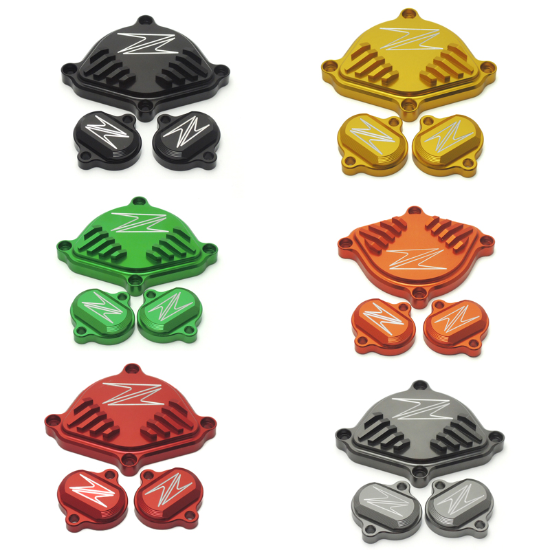 For kawasaki z125 Motorcycle Engine Cam Head Cover fit for Kawasaki Z125 Pro 2015 2016 2017 Set 6 Colors