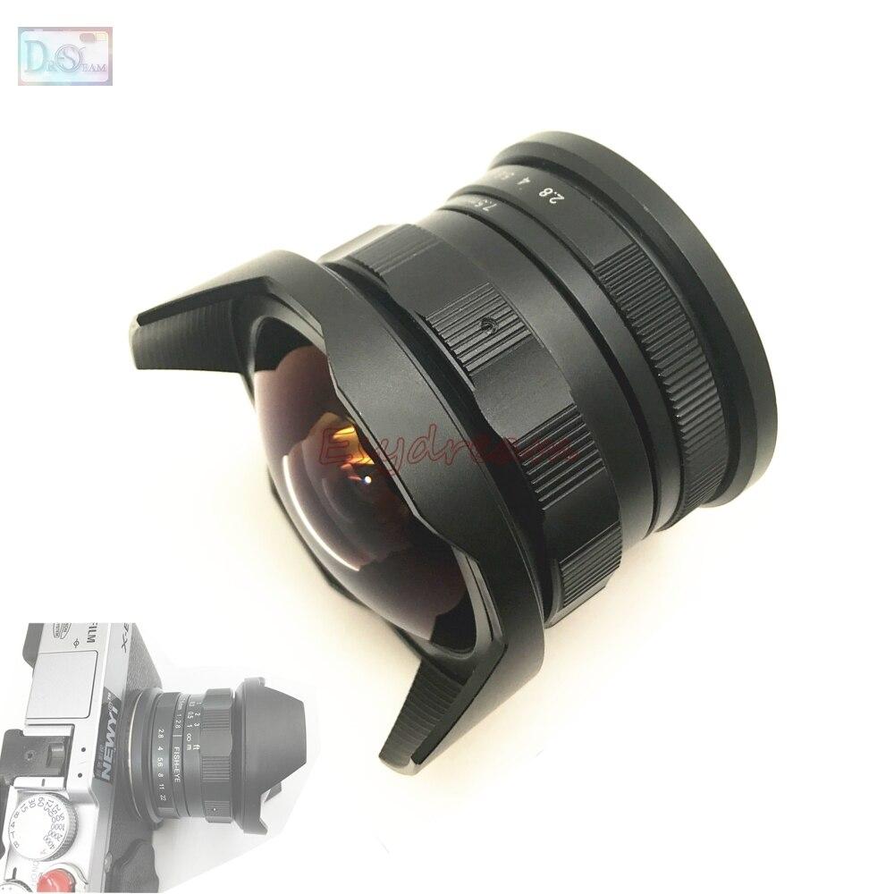 7.5mm F2.8 Fisheye Manual Fish Eye Lens for Fujifilm FX Olympus M43 MFT Sony E Mount Mirrorless Camera7.5mm F2.8 Fisheye Manual Fish Eye Lens for Fujifilm FX Olympus M43 MFT Sony E Mount Mirrorless Camera