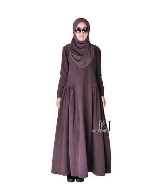 2015 Мусульманин хлопок абая исламской одежды для женщин дубай/пакистан моды девушки абая длинные платья KJ150314 djellaba