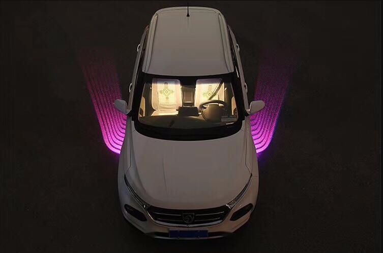 Qirun led atmosphère de voeux lumières du jour décoratives frein antibrouillard phare inverse clignotant pour Volvo V90 VAH VHD VN WAH WC