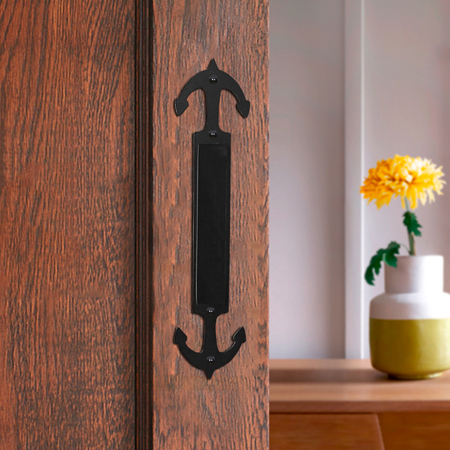 Lwzh Sliding Barn Door Pull Handle Sliding Closet Gate Cabinet