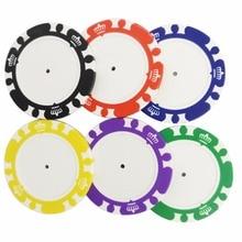 Фотография 10EA Golf Ball Marker Golf Poker Chip for Custom Ball Marker