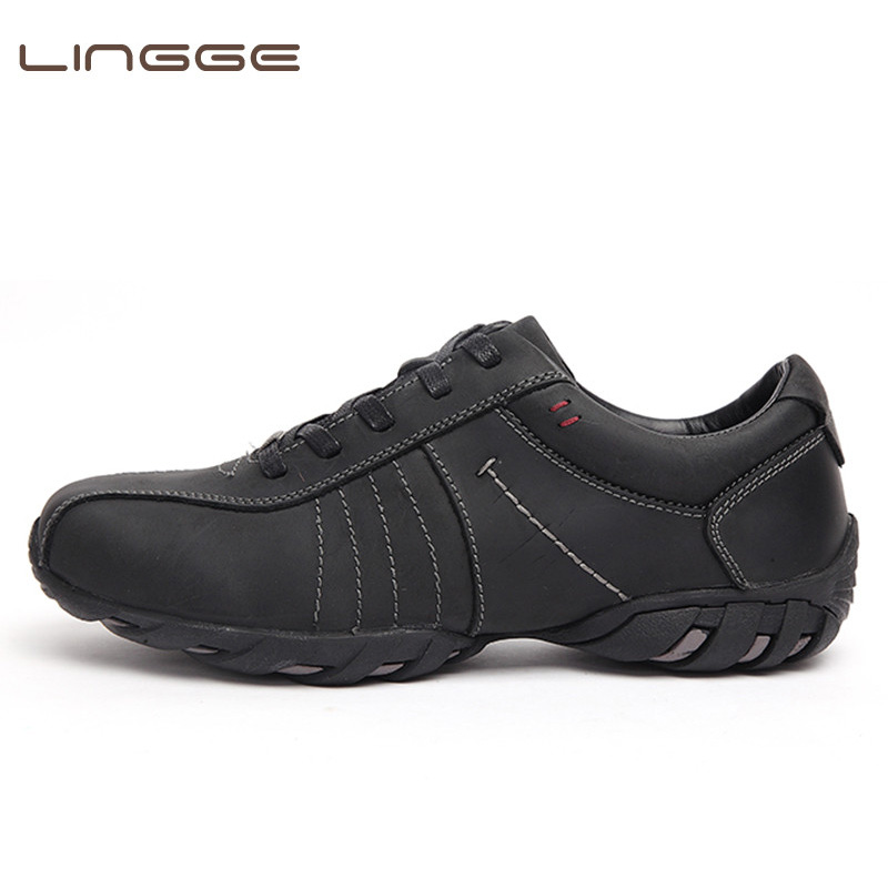 LINGGE Brand Full Grain Genuine Leather Men Casual Shoes Luxury Italian Style Handmade Leisure Fashion Sneakers Big SizeLINGGE Brand Full Grain Genuine Leather Men Casual Shoes Luxury Italian Style Handmade Leisure Fashion Sneakers Big Size