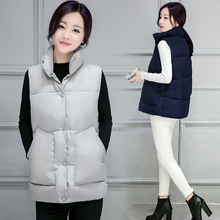 TX1395 Cheap wholesale 2016 new Autumn Winter Hot selling women's fashion casual female nice warm Vest Outerwear