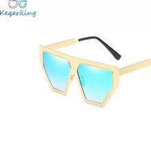 Retro Grosso Quadro Do Gato Olho óculos de Sol Das Senhoras Das Mulheres  Designer de Marca Espelho lente Do Olho de Gato Óculos . 645efa8dd0