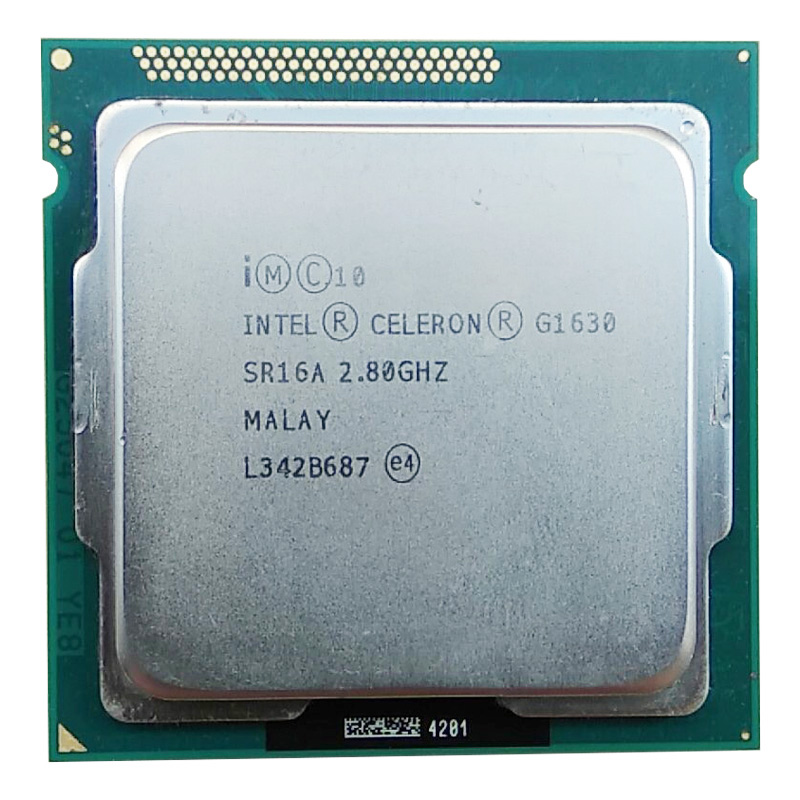 Intel Celeron G1630 Processor Dual-core CPU LGA1155/2.8Ghz 2m/compatibility H61 H81 B85 B75 Motherboard G1610 -1630 Have A Sale