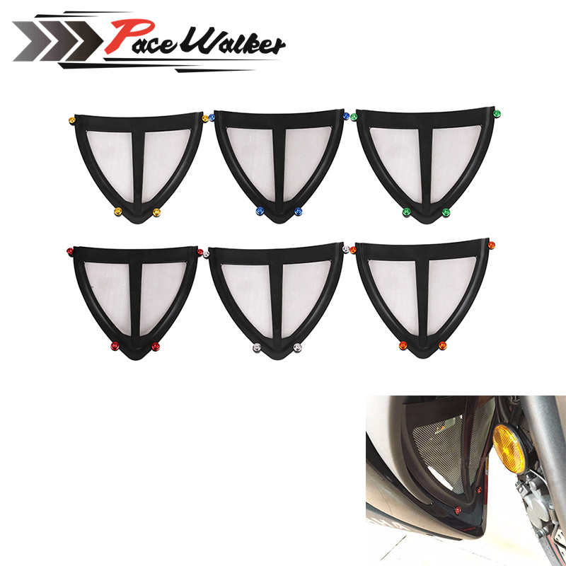 Motorcycle Exhaust Header Grille Guard Cover Under Antifouling Protector Kit For Yamaha YZF R3 R25 2014 2015 2016 motorcycle accessories radiator grille guard cover protector for yamaha yzf r25 yzf r25 2014 2015 page 3