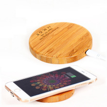 Qi Wooden Wireless Charging Pad + Qi Wireless Charging Adapter Receptor For Android Universal for iphone