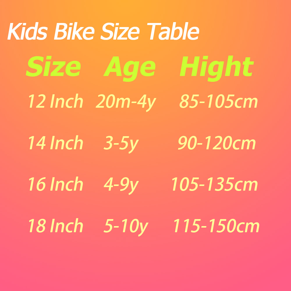 HTB15QjakeuSBuNjy1Xcq6AYjFXaP 12/14/16/18 inch Pink Kids Children Bike Forest Princess Kids Bicycles Girls Bike Foot Break BSCI Verified Factory Free Shipping
