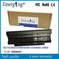 9cells 11.1V 7800Mah New High Quality Laptop Battery for Dell J1KND N4010 N5010 M5010 N4050 N5110 N4110