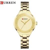 CURREN Rose Gold Watch Women Watches Ladies Stainless Steel Women S Bracelet Watches Female Clock Relogio