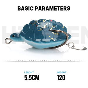 Image 3 - Trehook 12グラム5.5センチメートル人工餌カメソフトルアーシリコーン魚トラウトスプーンパイクwobblersルアー