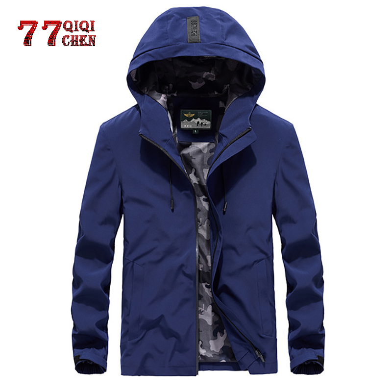 Jacket Windbreaker Camouflage Chaqueta Street-Costumes Spring Quick-Drying College Lining