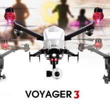 Professionnel drone Walkera Voyager 3 Double-Navigation FPV RC Quadcopter RTF Avec Devo-F12E 4 K Caméra hélicoptère VS DJI Inspire 1