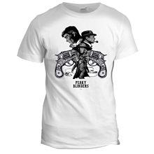 Peaky Blinders Inspired Movie TV Film Series 80s 90s Crime Mens Mafia T Shirt New Shirts Funny Tops Tee