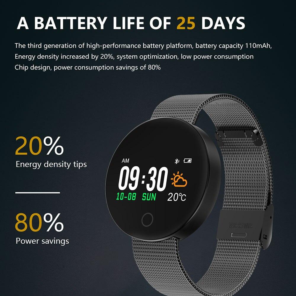 Smart Bracelet Waterproof IP67 Fitness Band Heart Rate Blood Pressure Tracker Watch Pedometer Pulsera Inteligente Tonometer