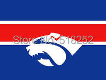 AFL Western Bulldogs Flag 3×5 FT 150X90CM Banner 100D Polyester flag 2020, free shipping