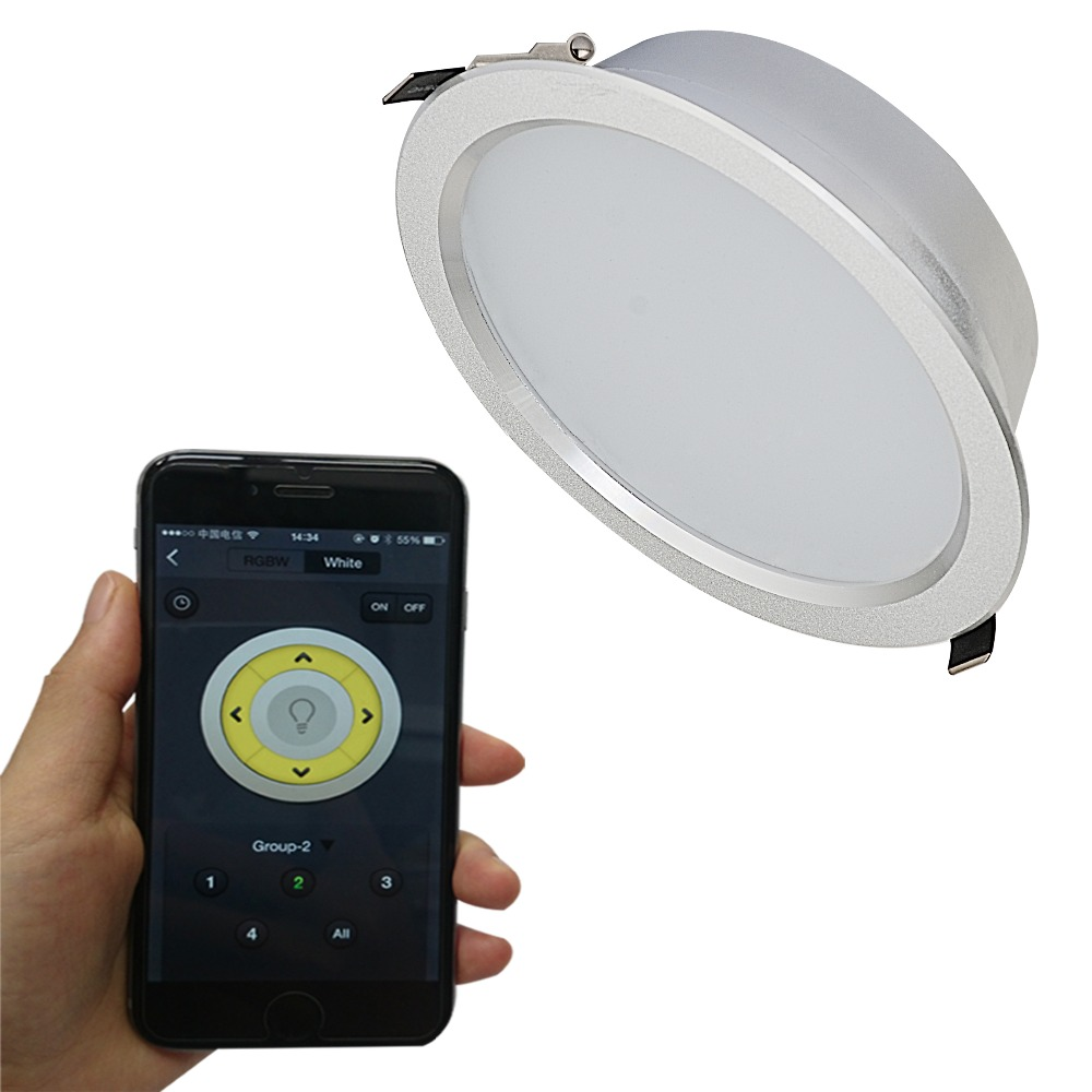 IPROLED IOS Android 12W CCT regulējams WIFI contorl LED downlight
