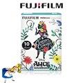 Fujifilm instax mini 8 film nueva alice in wonderland 10 hojas foto papel para fujifilm fuji instax mini 8 7 s 25 20 50 s 90 cámara
