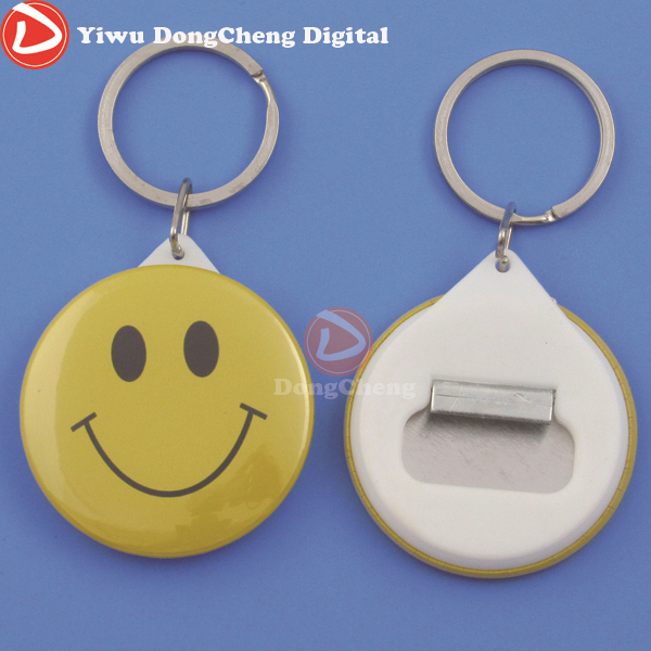 Free Shipping 1.3/4(44mm) Bottle Opener Keychain Button Badge material 200sets newest free shipping 2 1 4 58mm bottle opener keychain material 200sets