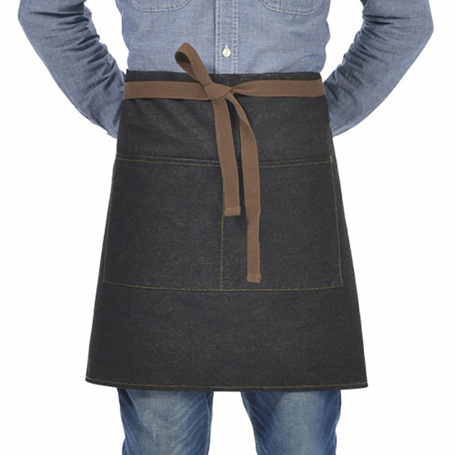 Original KEFEI High Quanlity New Unisex japanese apron waist denim apron barista vintage apron cooking aprons men