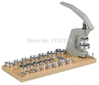 Watch Press Tool 5500 A Watch Crystal Press with 25 Tapered Dies