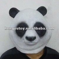Thiết Kế phổ biến Và Bán Hot Vivid Animal Party Halloween Costume Latex Panda Mask Full Head Dành Cho Người Lớn Kích Cho Nhà Hát Cosplay
