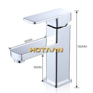 Image 5 - Free Shipping Basin Mixer Cold and Hot Water Tap Torneira Da Bacia Single Handle Bathroom Faucet torneiras do banheiro