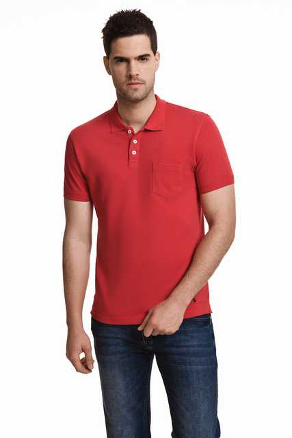 Javier Larrainzar men   Polo   Manga Corta Casual Color Red