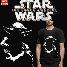 Darth Vader BB-80 T shirt Stormtrooper Star Wars Shirt Summer Yoda Tee Organic Cotton Famous movie Breahtable