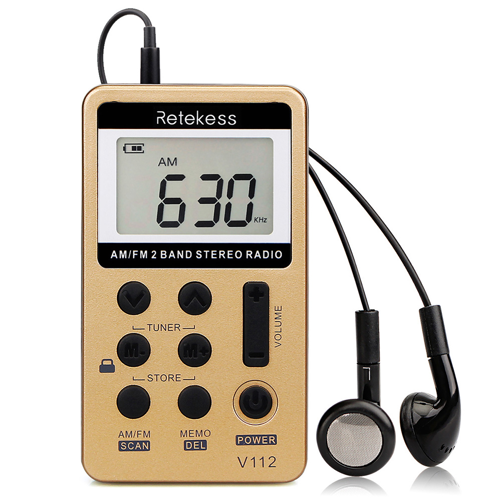 Tragbares Audio & Video Begeistert Retekess Tragbare Am/fm Stereo Radio Tasche Lcd Display Bildschirm 2 Band Digitales Tuning Radio W/kopfhörer Wiederaufladbare Batterie Unterhaltungselektronik