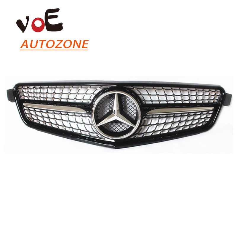 Buy 2008 2014 abs plastic w204 gloss for Mercedes benz c300 grill