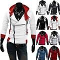 Стильный Assassins Creed Толстовка мужская Косплей Прохладный Тонкий Костюм Куртка Пальто